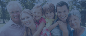 Happy multi-generational family - Herb Chavers - Estate Planning Law Firm