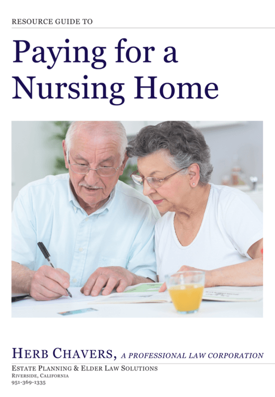 Paying for a Nursing Home Resource Guide